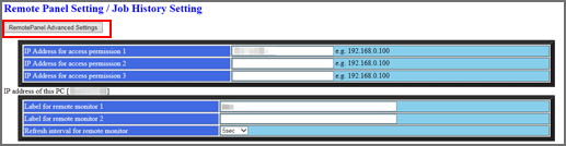 Web Utilities|Real-time Remote Panel (VNC Viewer): Setup
